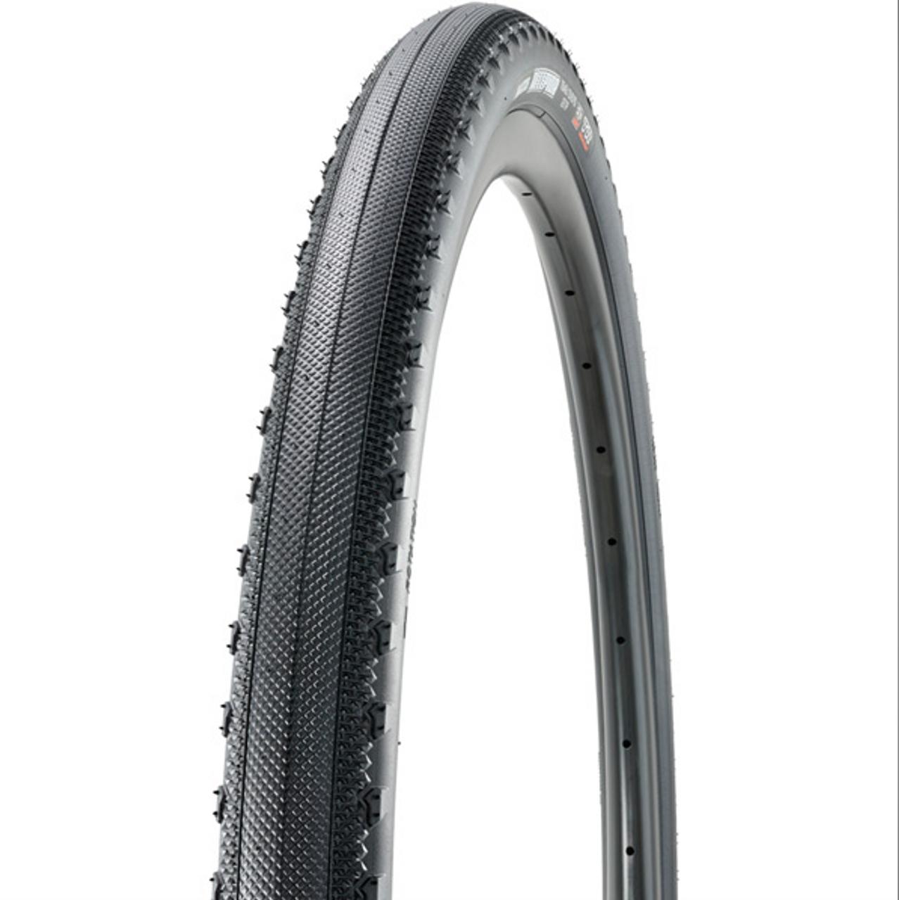 Maxxis Receptor Semi Slick Gravel Tubeless Ready Dual Compound ExO Folding Tyre