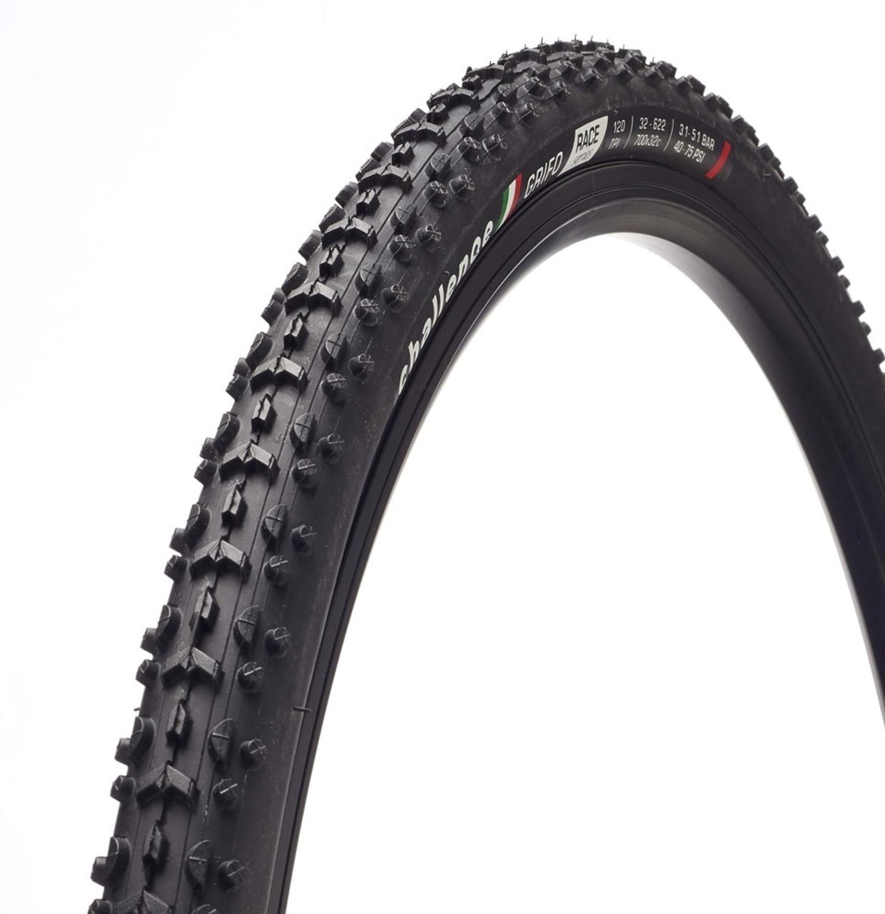 Challenge Grifo Race Vulcanized Clincher Cyclocross Tyre 700 x 33 Black