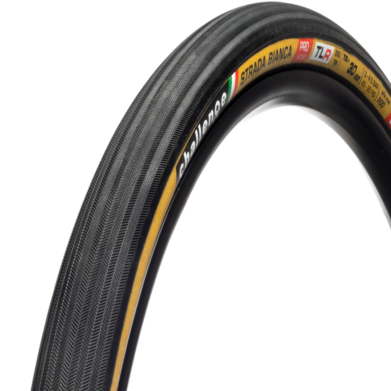 Challenge Strada Bianca Pro Tubeless Ready Cyclocross/Gravel Tyre- Tan 700 x 30