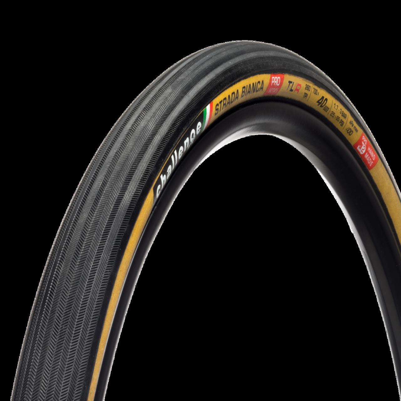 Challenge Strada Bianca Pro Tubeless Ready Cyclocross/Gravel Tyre- Tan 700 x 40