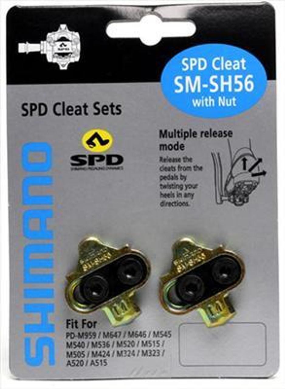 Shimano SH56 Multi Release Cleats