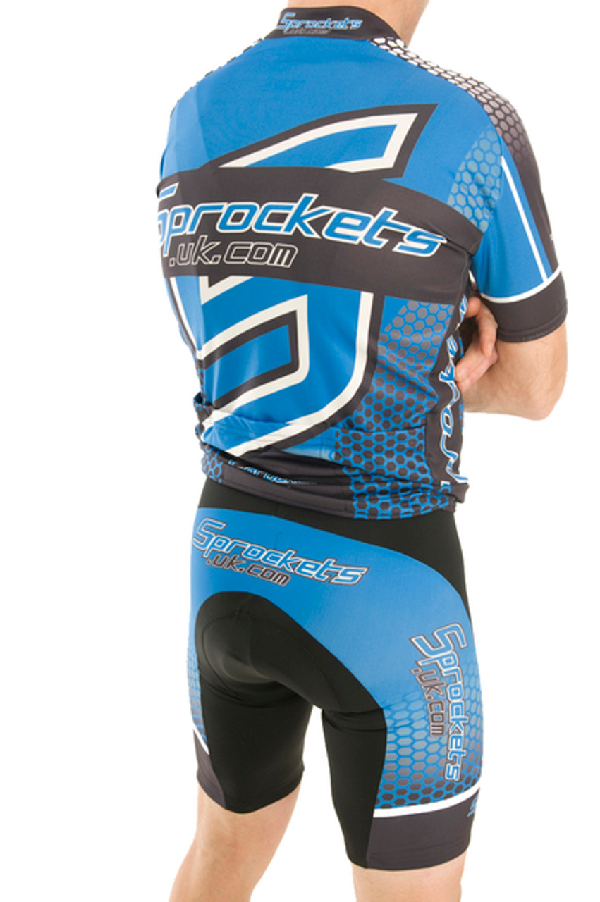 Sprockets UK 2015 Team Cycling Bibshorts - REDUCED TO CLEAR - RRP £49.99
