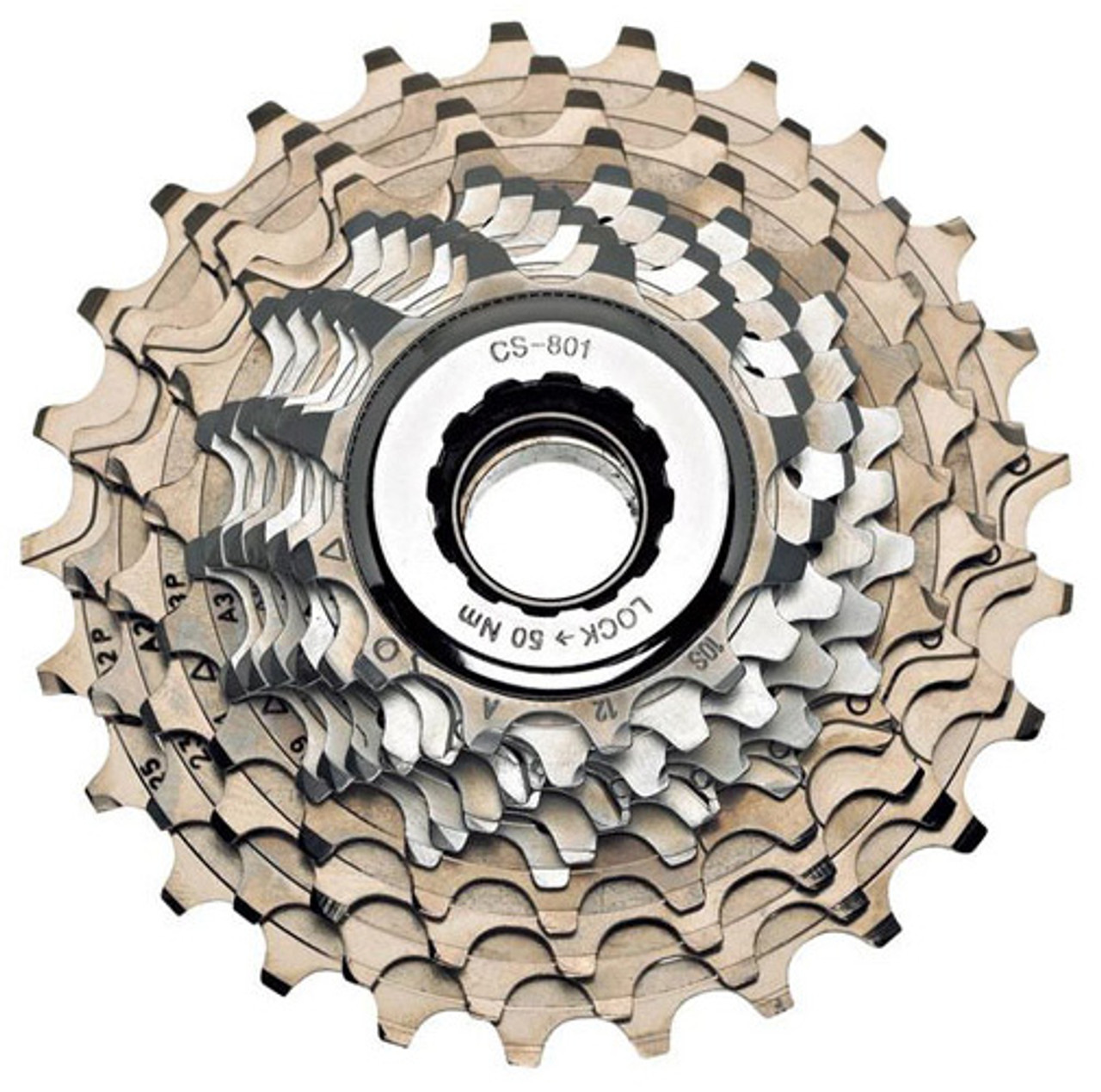 Campagnolo Record 2008 9 Speed Part Titanium Cassette 13-23