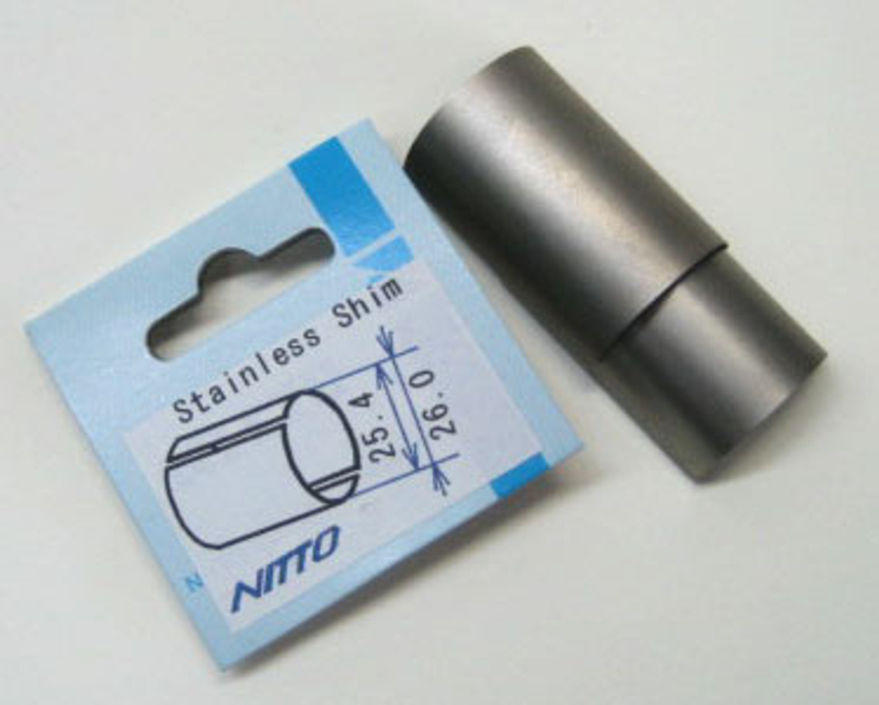 Nitto Stainless Steel Shims 26.0mm - 25.4mm