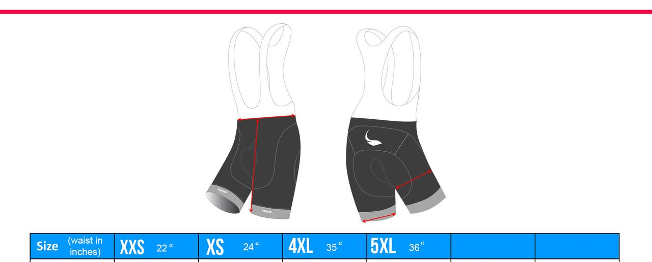 Sprockets Flash Gel Bib Shorts