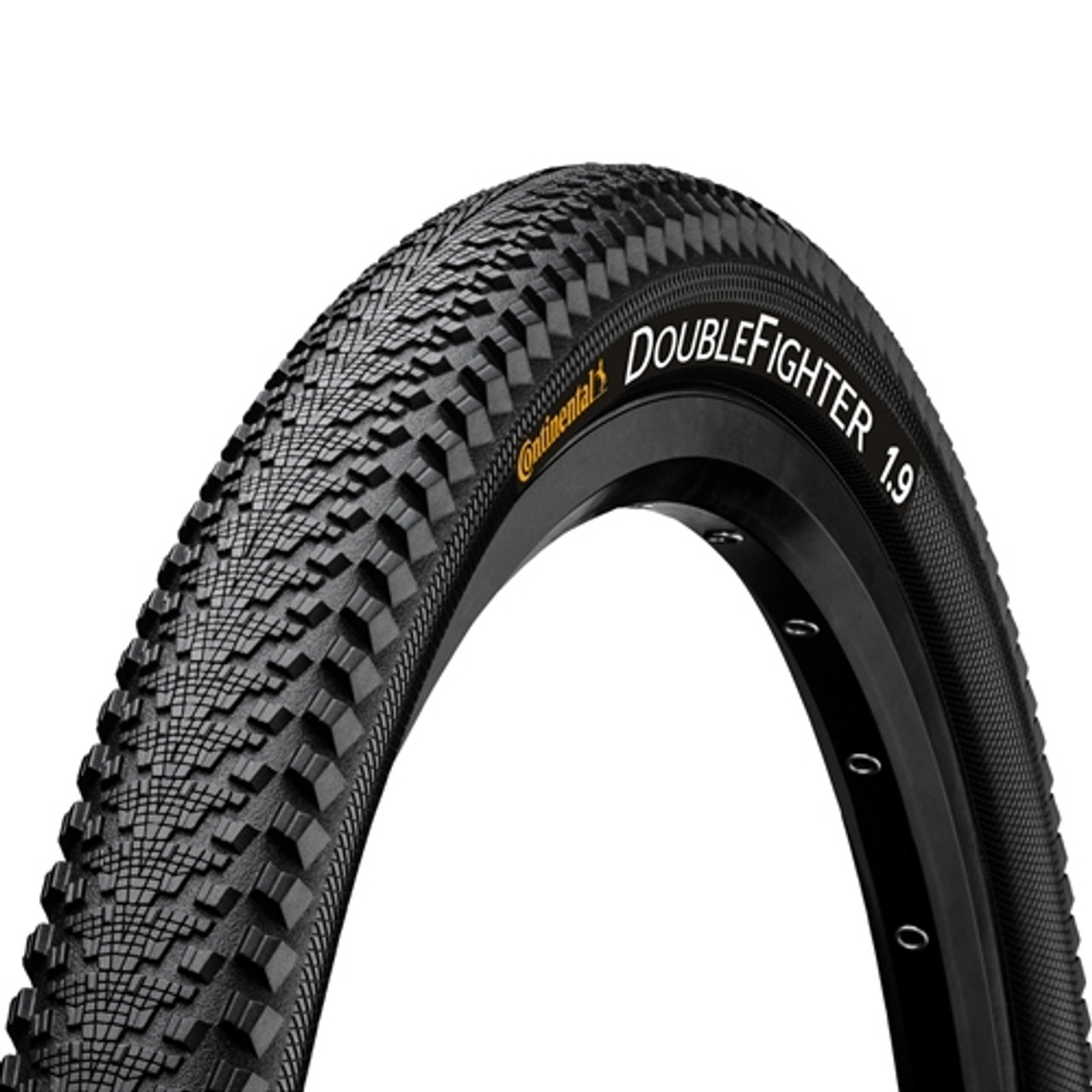 Continental Double Fighter III Rigid Commuter MTB Tyre