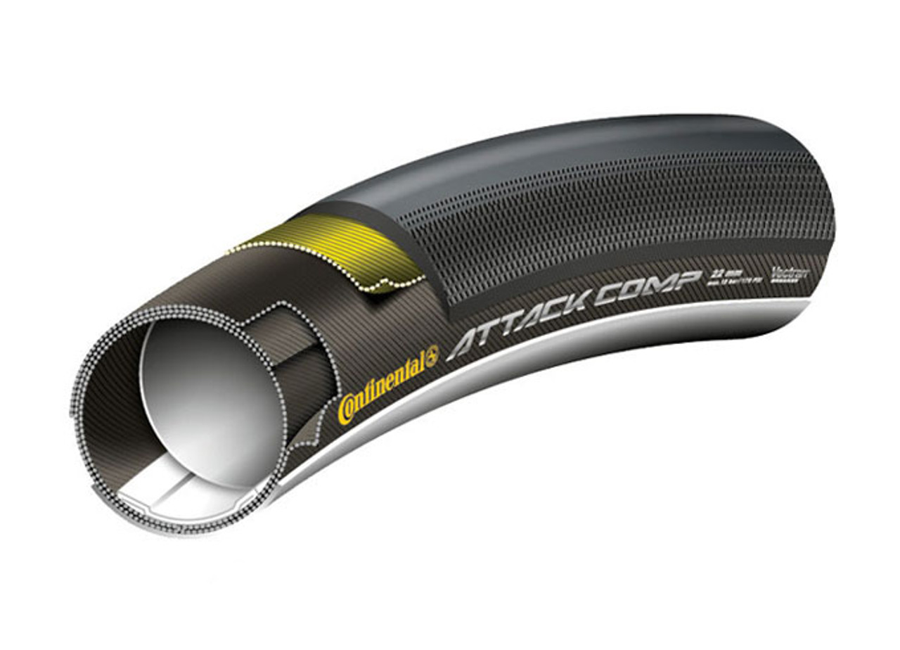 Continental GP Attack Comp Tubular 700 x 22