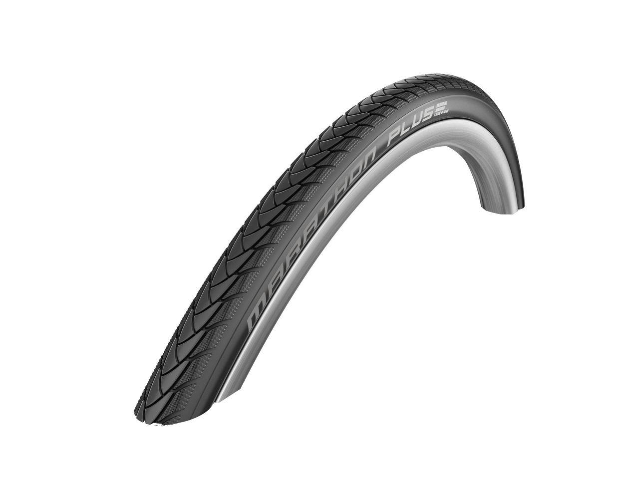 Schwalbe Marathon Plus Evo SmartGuard Black'n Roll Rigid Wheelchair Tyre 24 x 1.00