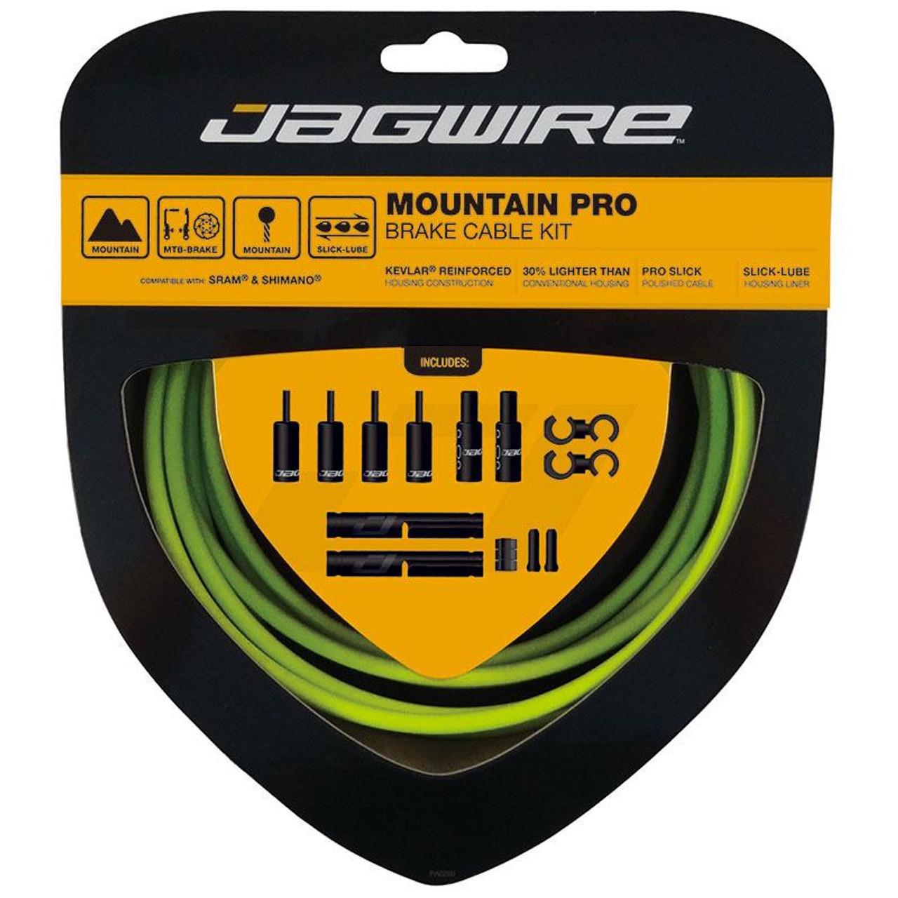 Jagwire Mountain Pro Brake Cable Kit (10 Colours)