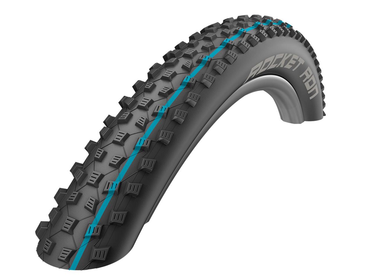 Schwalbe Addix Rocket Ron Evo SpeedGrip SnakeSkin TLR Folding Tyre 27.5 x 3.00