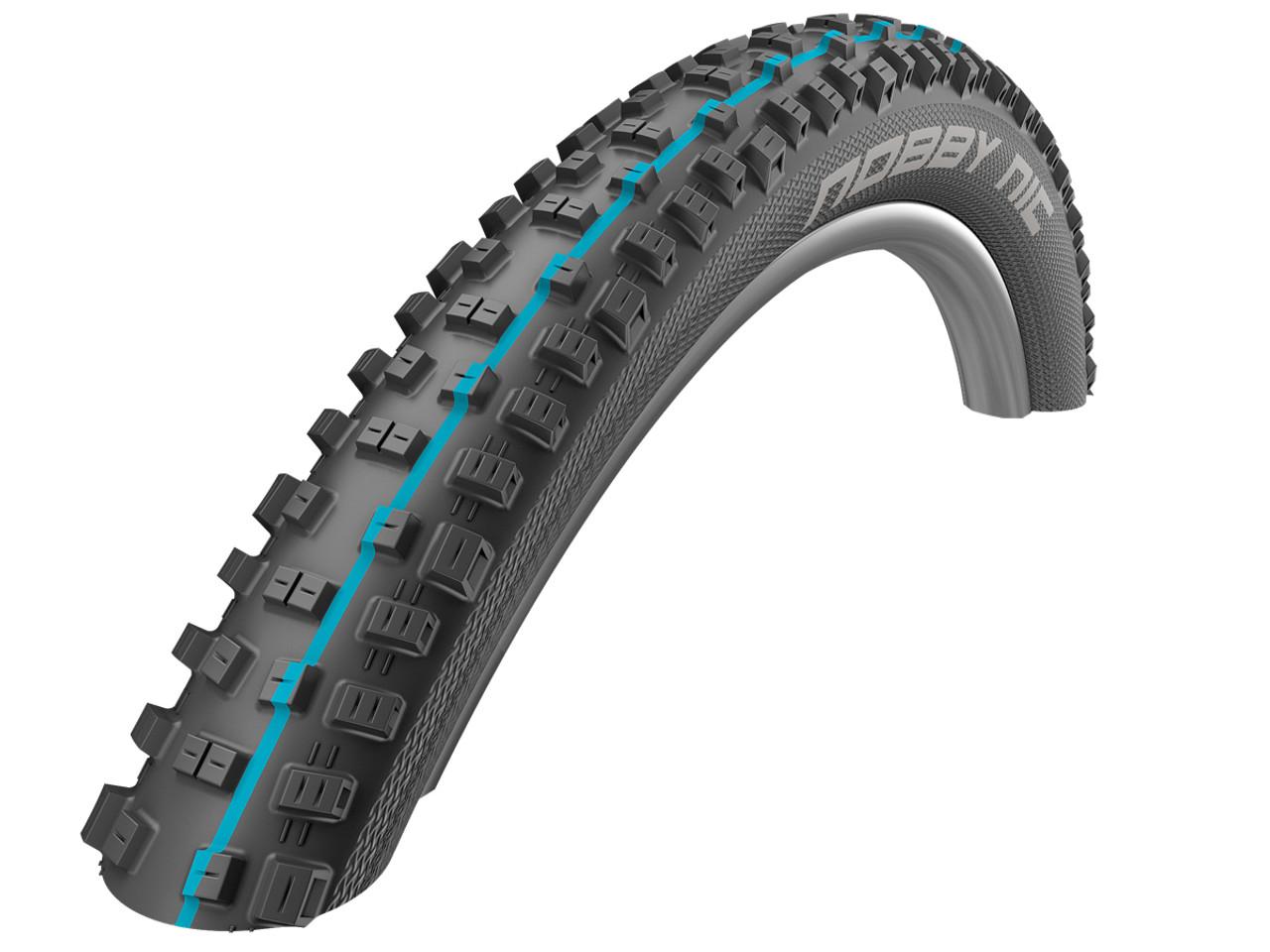 Schwalbe Addix Nobby Nic Evo SpeedGrip SnakeSkin TL-Easy Folding Tyre 26 x 2.25
