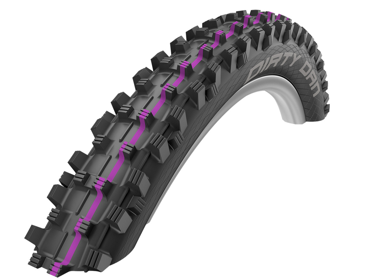 Schwalbe Addix Dirty Dan Ultra Soft Super Gravity TLR Folding Tyre 27.5 x 2.35