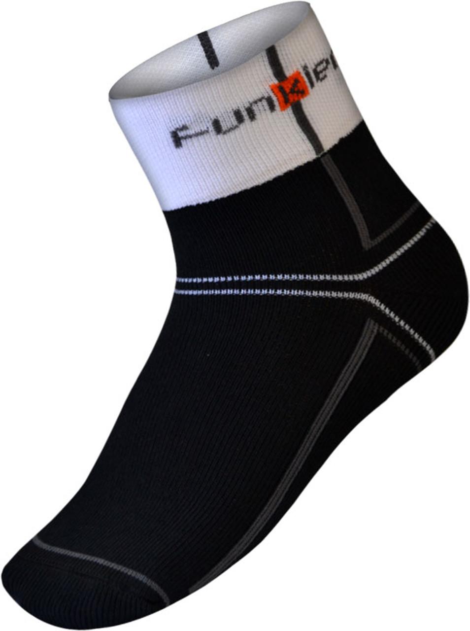 Funkier Lorca Winter Thermo-lite Socks | Black/White | SK-44