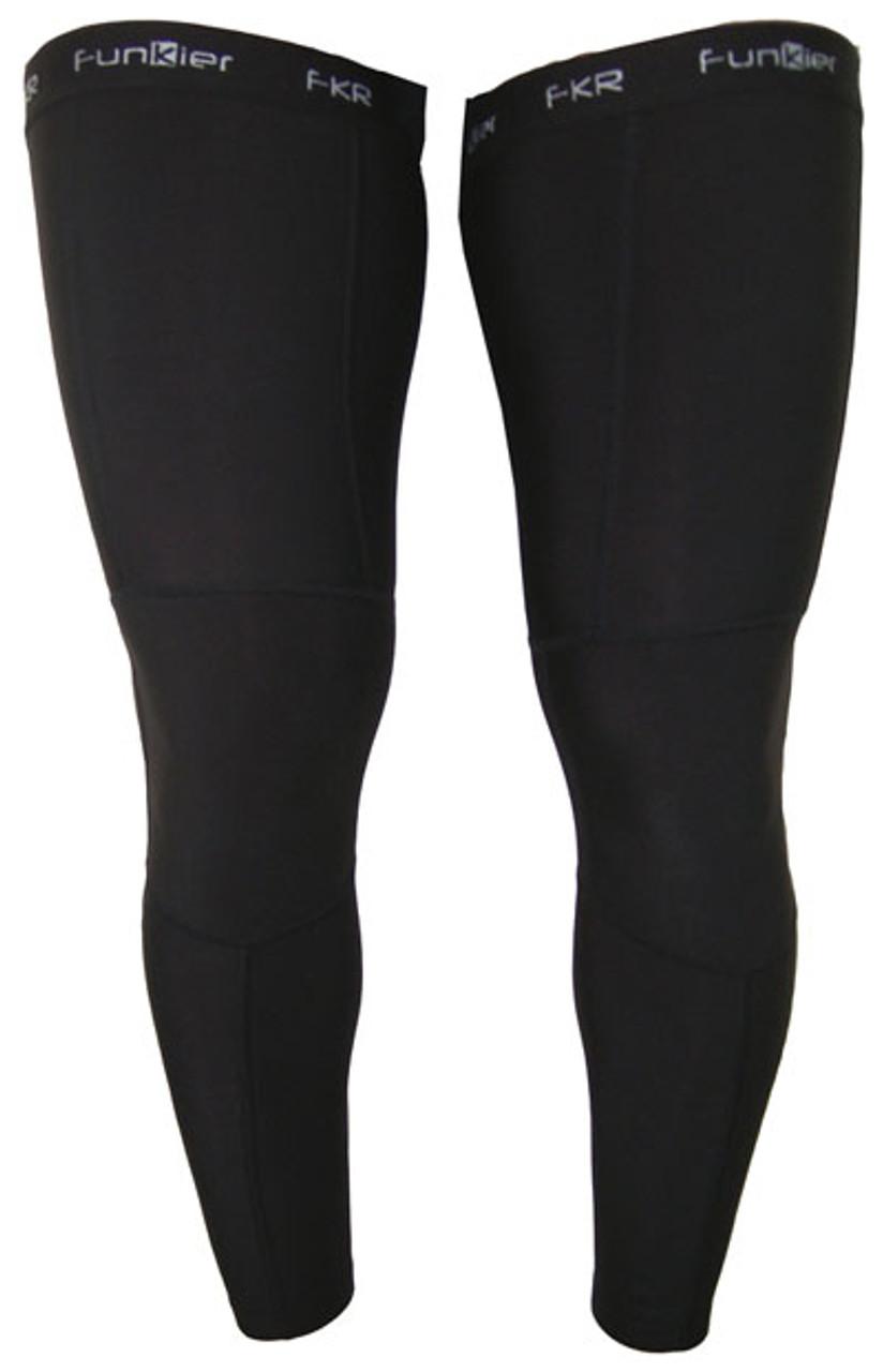 Funkier Garray Winter Thermal Microfleece Leg Warmers   LW03