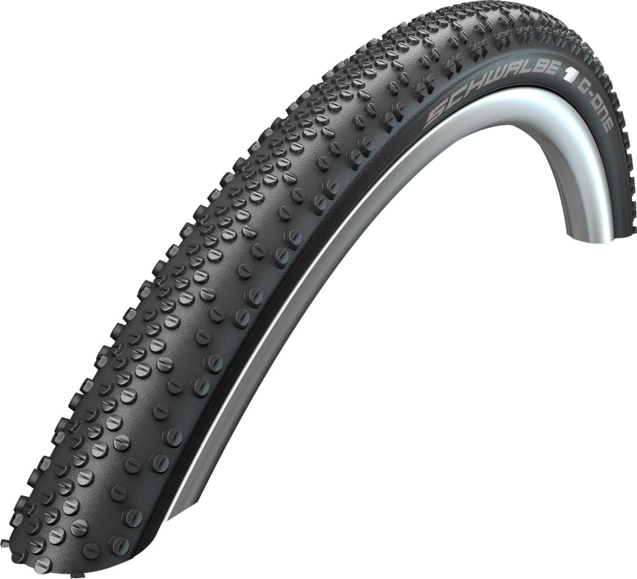 Schwalbe G-One Bite Evo SnakeSkin TL-Easy OneStar Folding Tyre 27.5 x 2.10