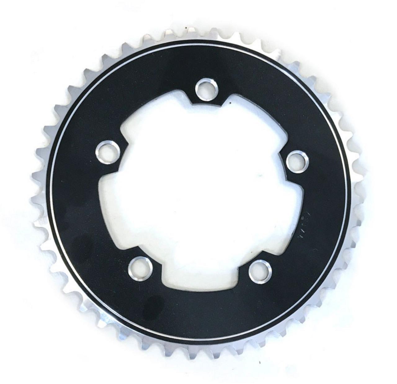 "Gebhardt 1/8"" Track Chainring | Black | 130mm BCD | All Sizes"