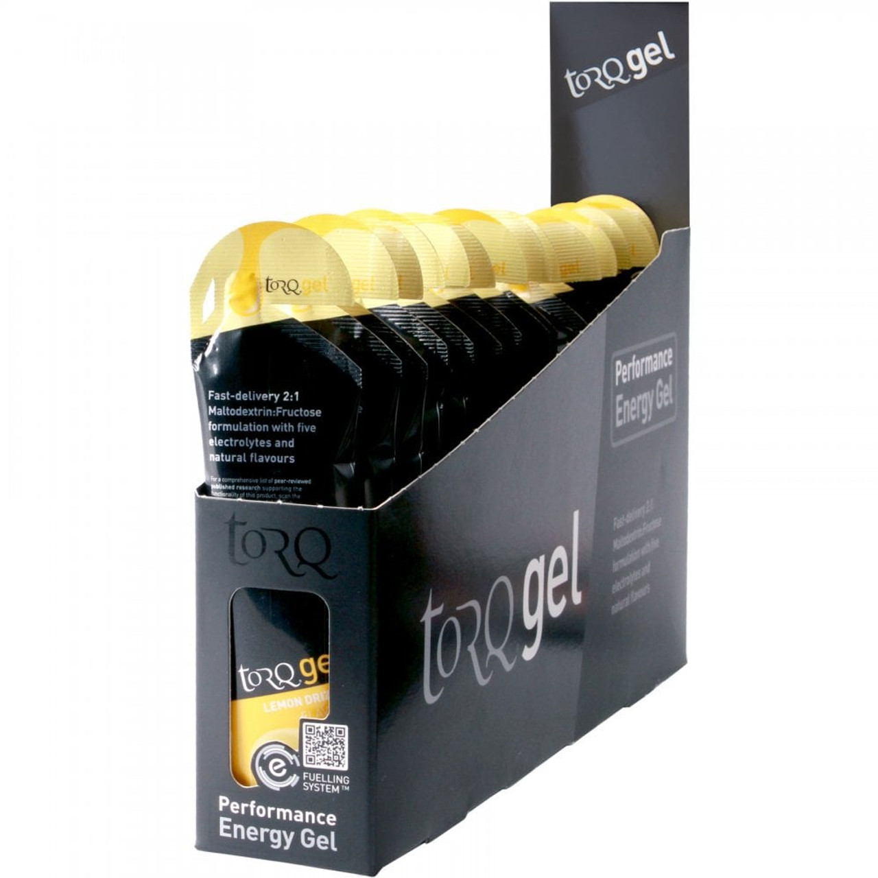 TORQ Energy Gel 15 x 45g All Flavours