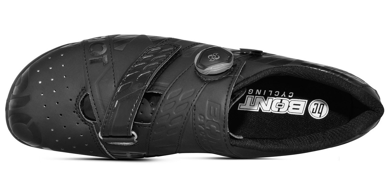 Bont Riot+ Cycling Shoe Black Fully Mouldable All Sizes