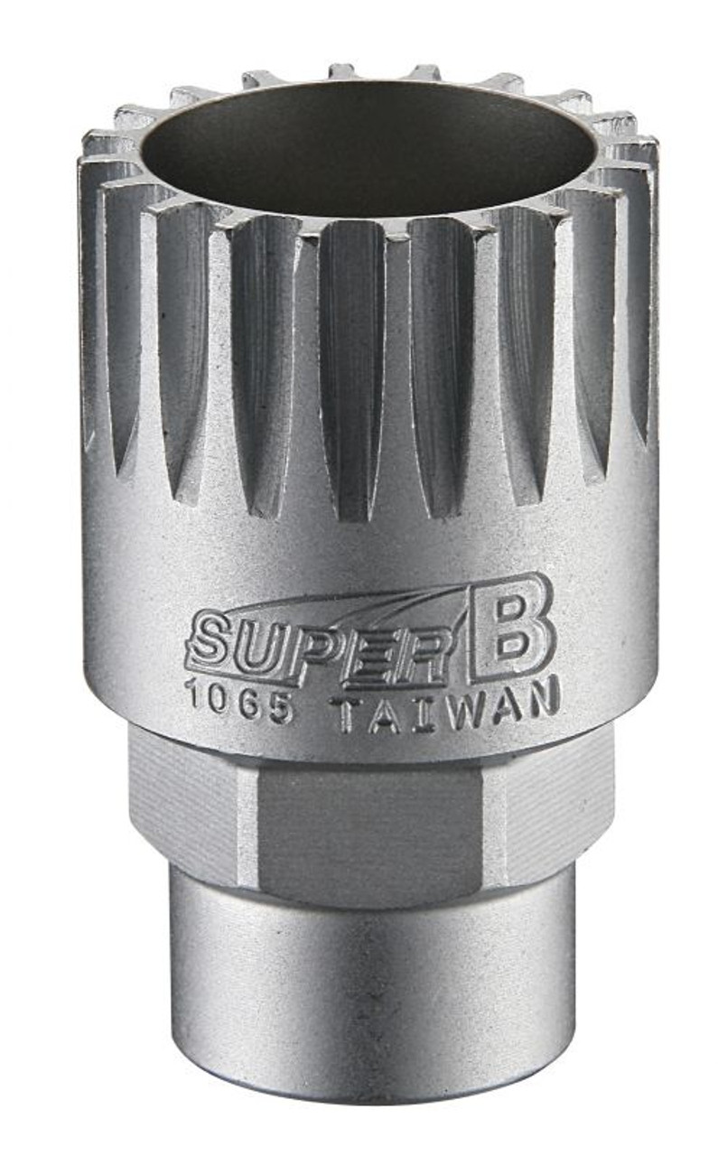"Super B TB-1065 Cartridge Bottom Bracket Removal Tool 1/2"" Drive/24mm"