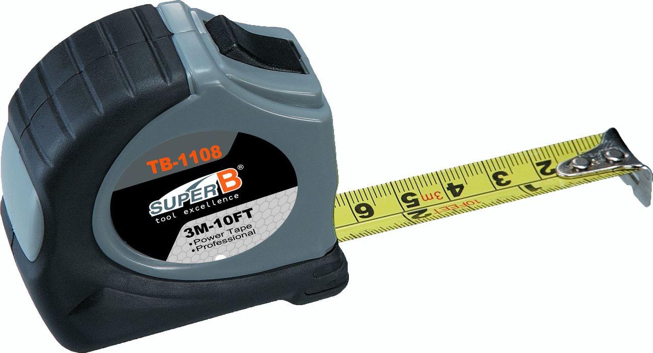 Super B TB-1108 Tape Measure 3m