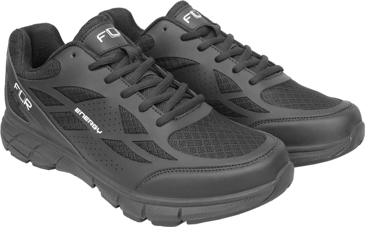 FLR Energy Active Spinning Shoe Including Cleats in Black All Sizes