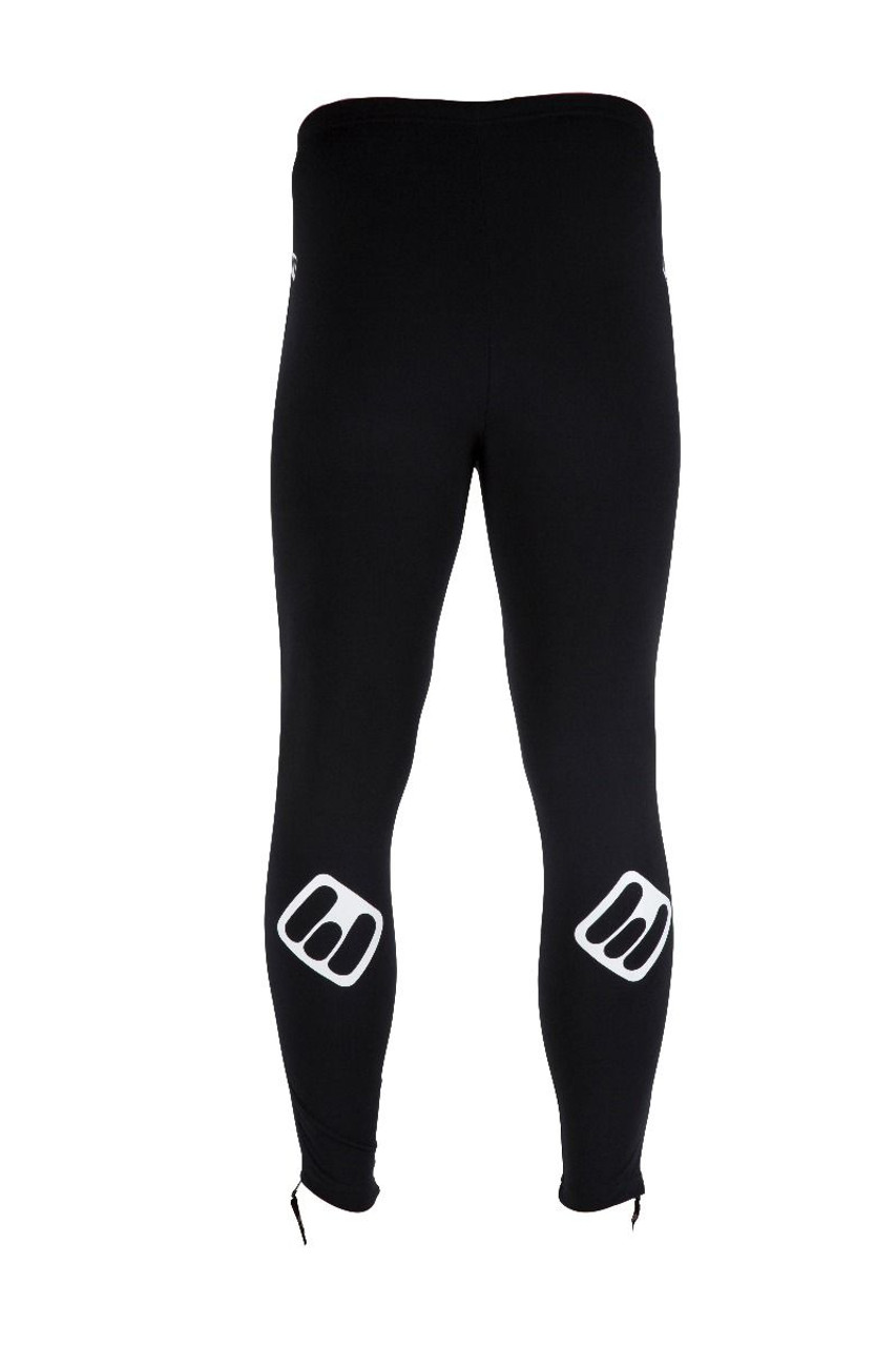 ETC Warm Up Full Zip Tights Black All Sizes