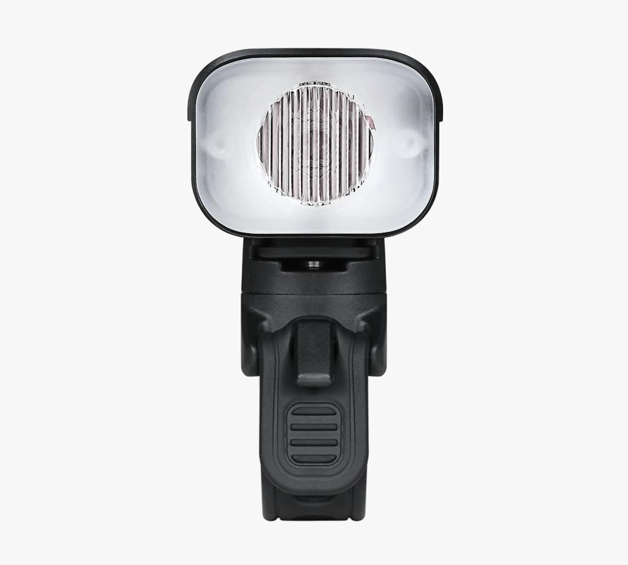 Ravemen LR800P USB Rechargeable Curved Lens Front Light in Matt Black (800 Lumens)