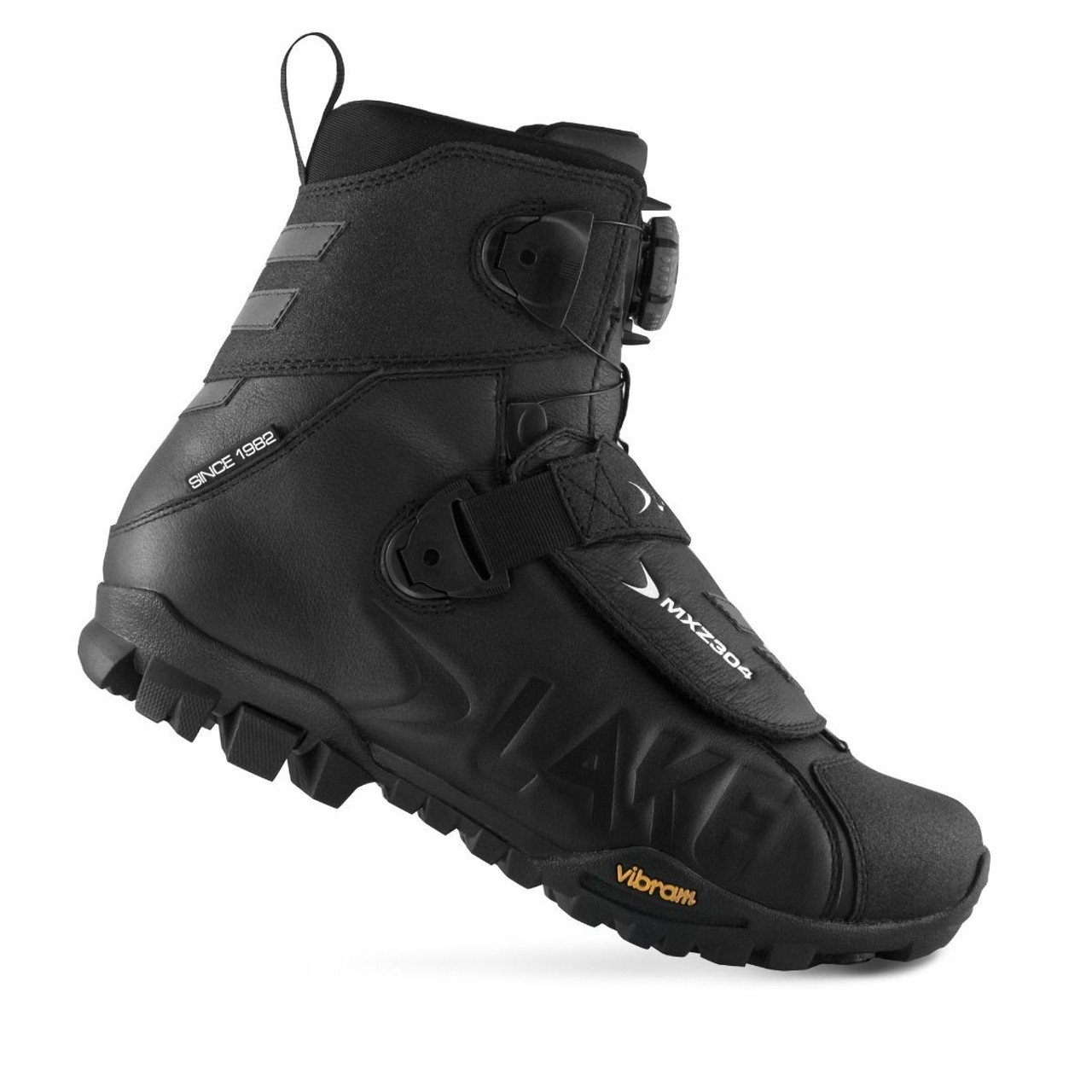 Lake MXZ304 Winter Boot Wide Fit Black All Sizes