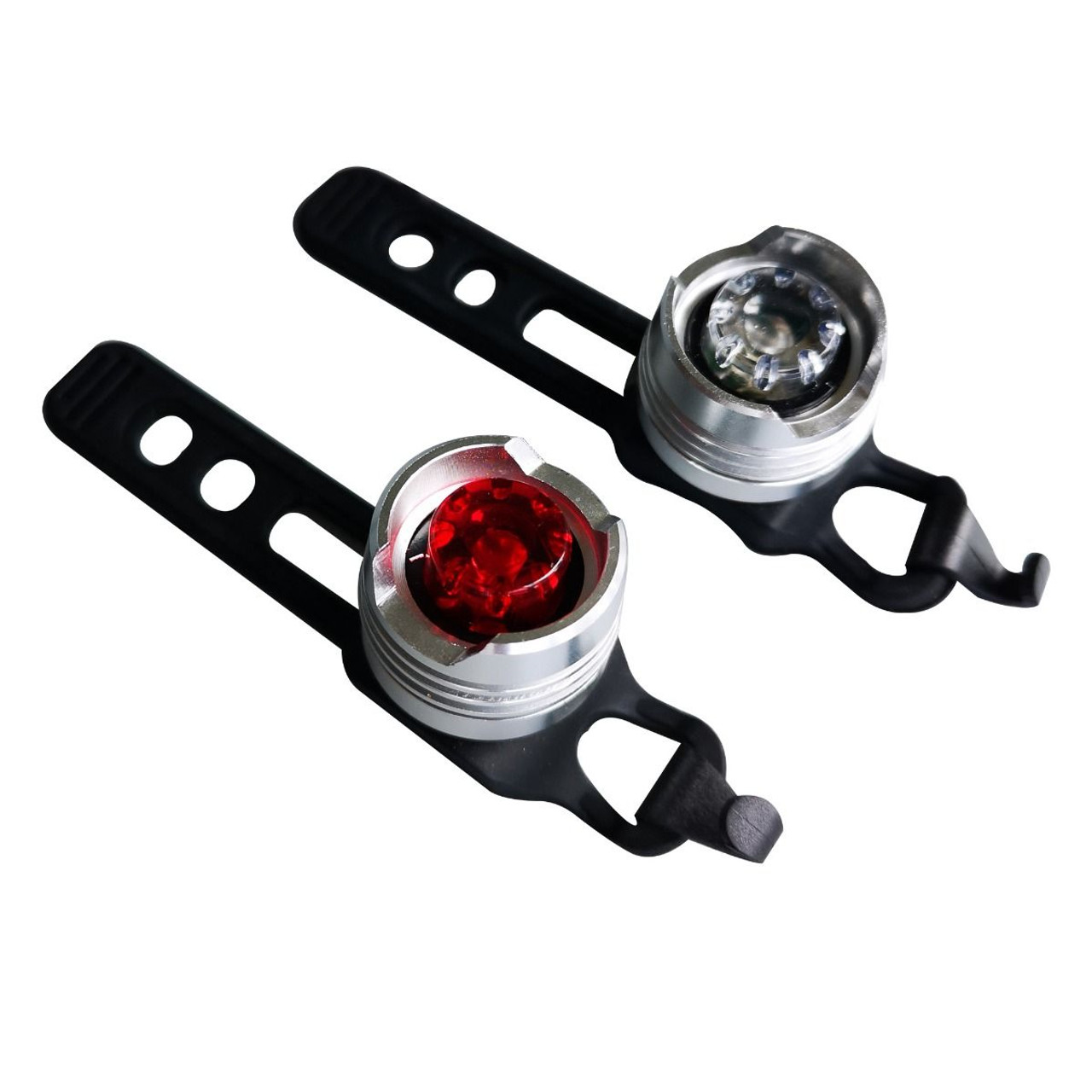 ETC Super Bright LED Mini Twinpack Lights Front and Rear