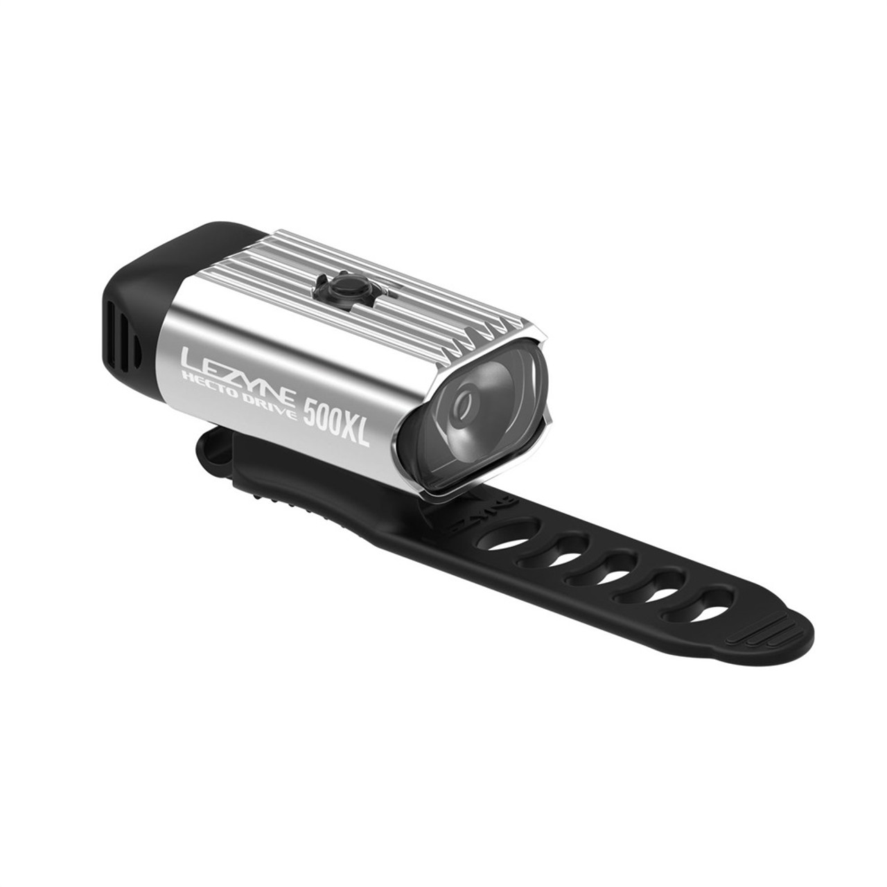 Lezyne Hecto Drive 500XL Front Light Polished Silver