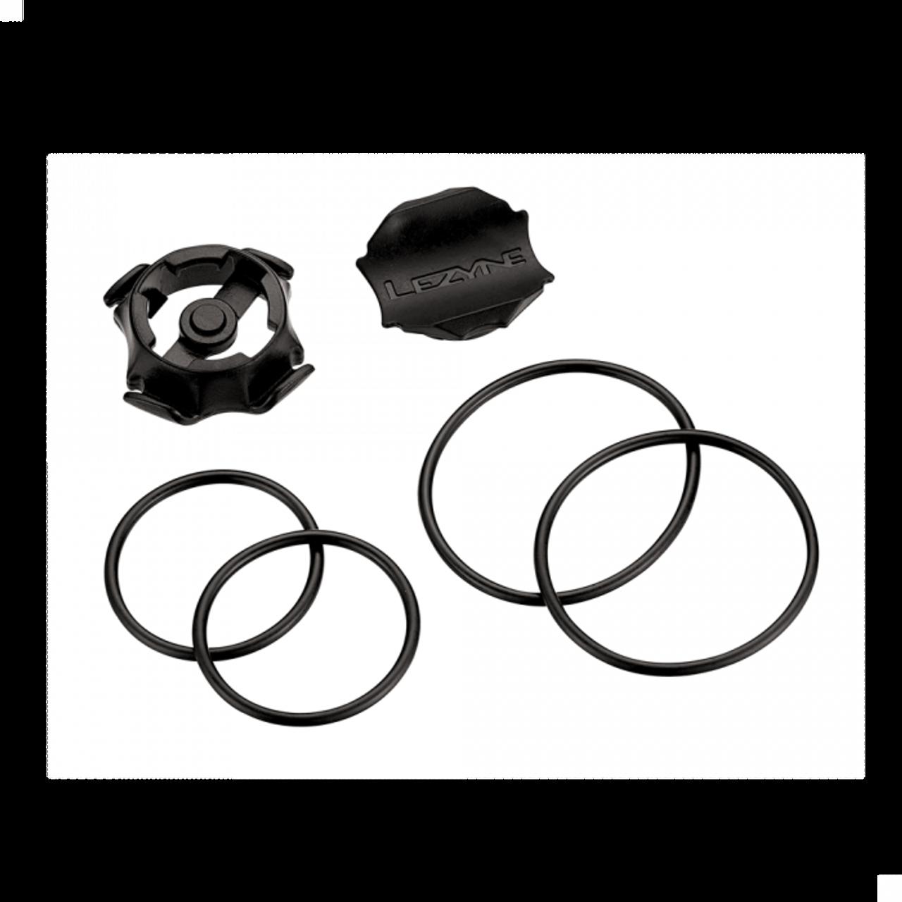 Lezyne GPS O-Ring Mount Kit In Black