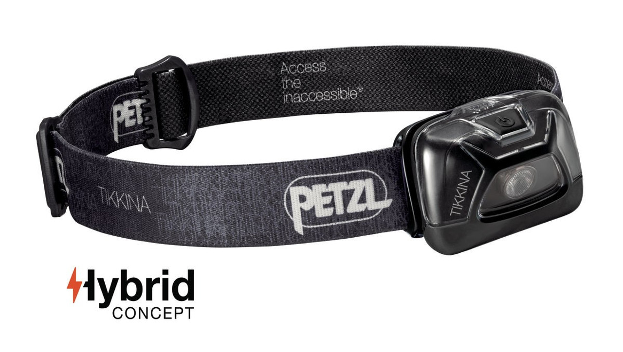 Petzl Tikkina 150 Lumen Headlamp Black