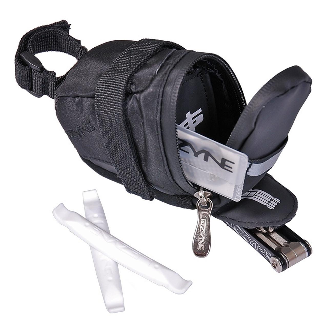 Lezyne S-Caddy Loaded Saddle Bag In Black