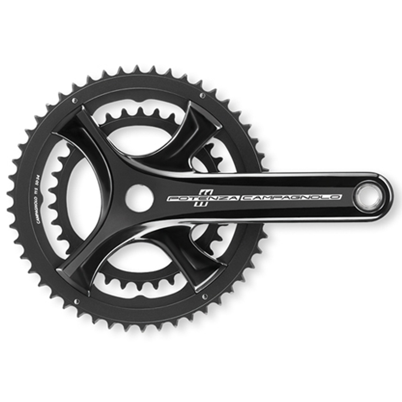 Campagnolo Potenza 11sp Chainset In Black All Sizes