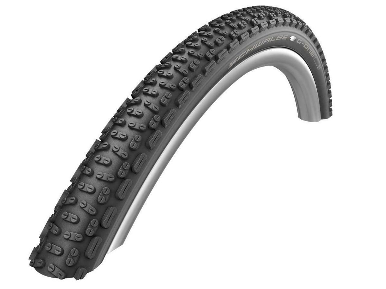 Schwalbe G-One Ultrabite TLE Addix SpeedGrip Evolution Tyre in Black