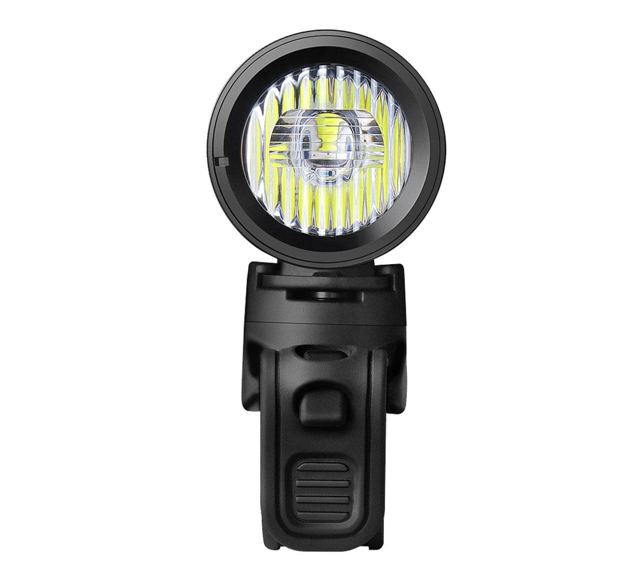 Ravemen CR1000 USB Rechargeable Front Light with Remote in Matt/Gloss Black (1000 Lumens)