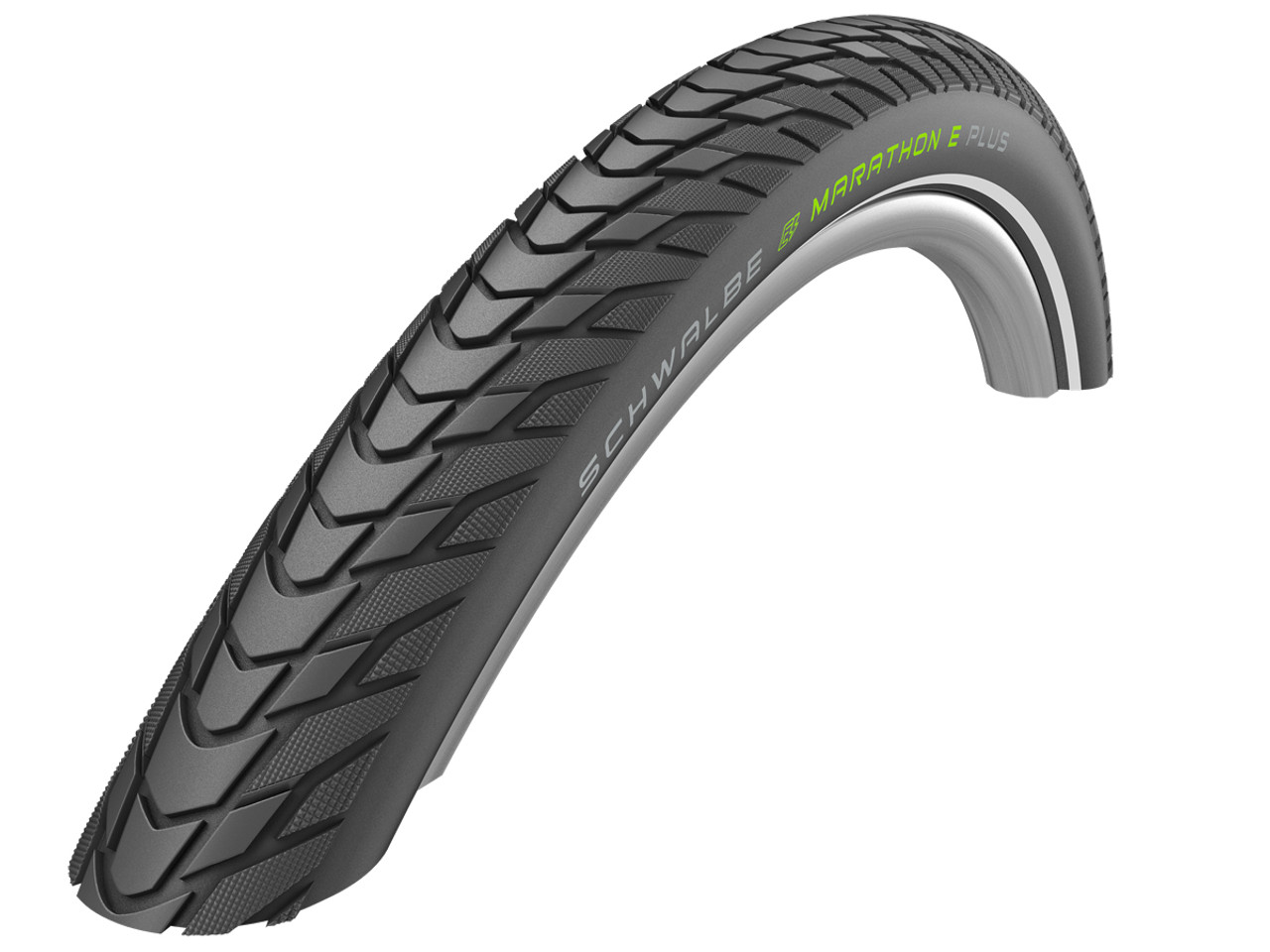 Schwalbe Marathon E-Plus Addix-E Performance Smart DualGuard Wired Tyre in Black