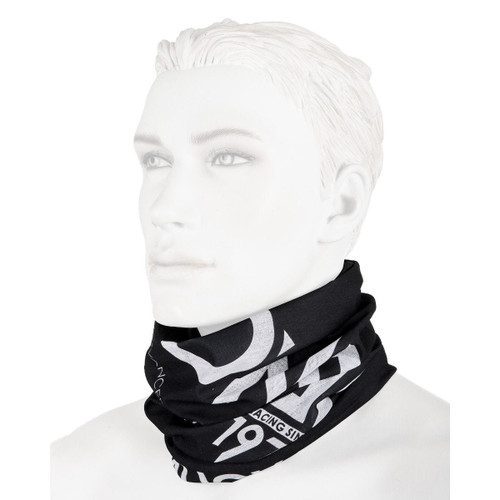 O'neal Neckwarmer Solid Black/White One Size