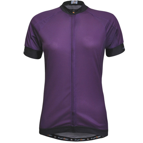 Funkier Ibera Ladies Active S/S Jersey in Purple