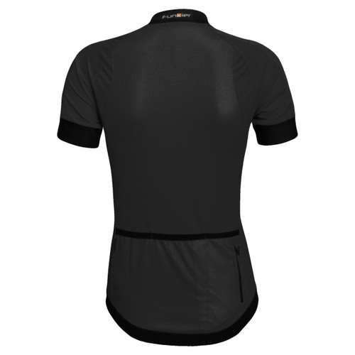 Funkier Ibera Ladies Active S/S Jersey in Black