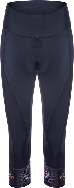 Funkier India Ladies Pro 3/4 Tights in Black