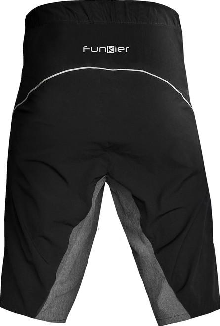 Funkier Trak Pro MTB Baggy Shorts in Black/Grey