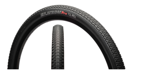 Kenda Flintridge Pro Gravel GCT Tubeless Ready Folding In Black