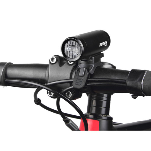 Ravemen CR450 USB Rechargeable T-Shape Anti-Glare Front Light with Remote in Matt/Gloss Black RRP £44.99