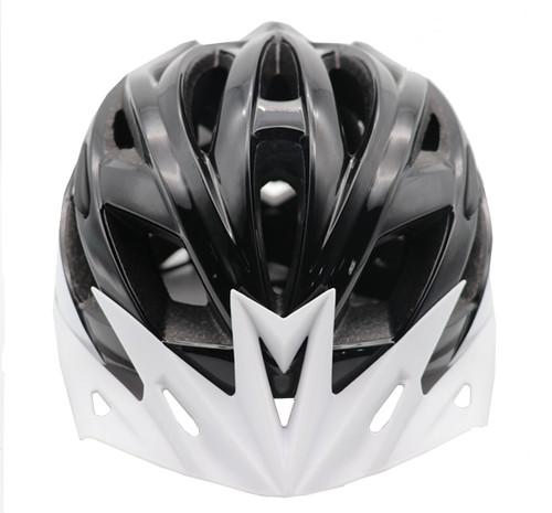 Funkier F-365 Leisure Urban Inmold Helmet in Black/White All Sizes