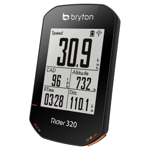 Bryton Rider 320T GPS Cycle Computer Bundle With Cadence & Heart Rate Monitor