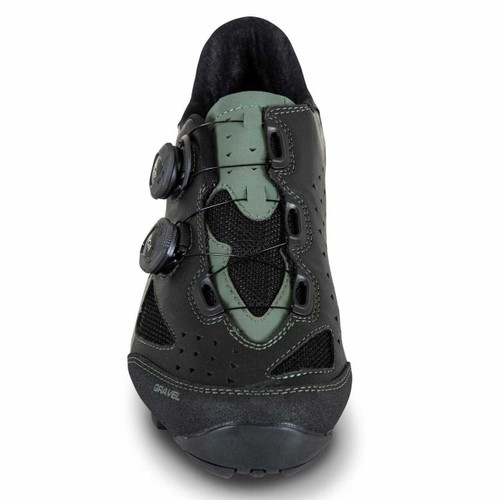 Lake GX238 Gravel Water Resistant Cycling Shoe - Wide Fit In Black/Beetle All Sizes RRP £265