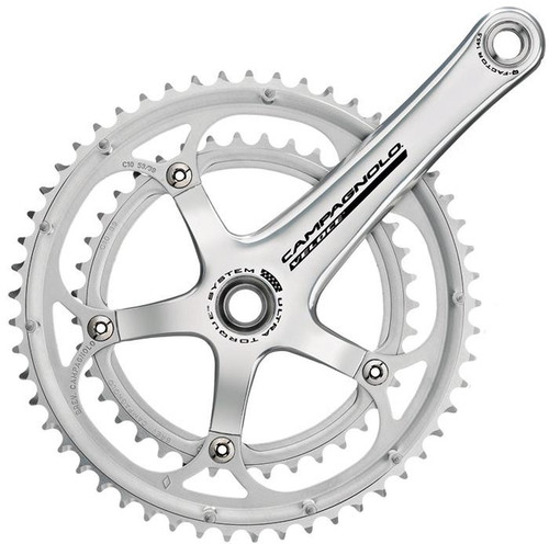 Campagnolo 2008 Veloce Ultra Torque 10 Speed Cranks Silver