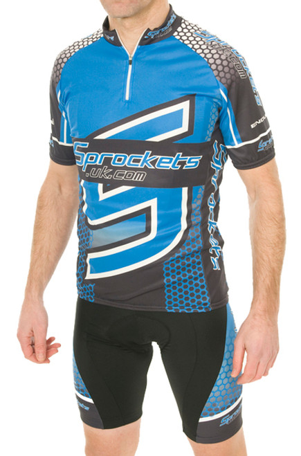 Sprockets UK 2015 Team Short Sleeve Jersey - REDUCED TO CLEAR - RRP £39.99