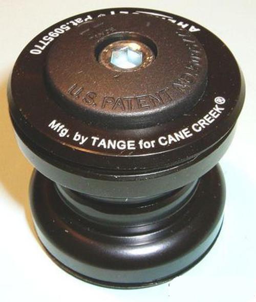 """Tange TGR 1"""" Black Steel Threadless Headset"""